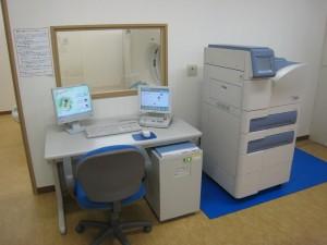 X線CT装置の操作卓